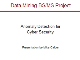 Data Mining BS/MS Project