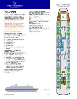 ms VolendamDECK PLANS & STATEROOMSThe deck plans are color-coded by ca