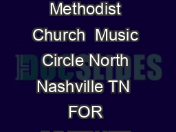 Draft January    General Council on Finance and Administration The United Methodist Church  Music Circle North Nashville TN  FOR IMMEDIATE RELEASE February    Contact Brigette Brandon