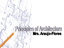 Principles of Architecture PowerPoint PPT Presentation