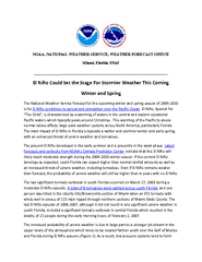 NOAA, NATIONAL WEATHER SERVICE, WEATHER FORECAST OFFICE