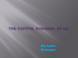 The Capitol building of NC