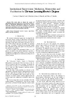 International Journal of Information and Education Technology Vol