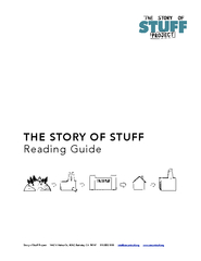 This reading group guide for The Story of Stuff includes an introducti