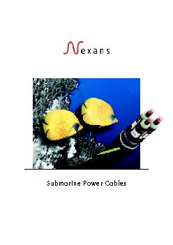 Submarine Power Cables PowerPoint PPT Presentation