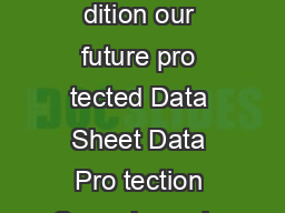 ymantec Backup Ex ec  Small Business dition our future pro tected Data Sheet Data Pro tection Over view oda y ever y business depends on data PowerPoint PPT Presentation