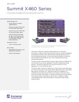 52-port, 48-port or 28-port Optional two-port 10 GbE in Slot A to prov