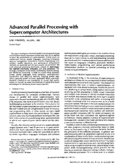 This paper investigates parallel processing hardwarelsoftware architec