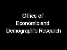 Office of Economic and Demographic Research