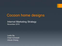 Cocoon home designs