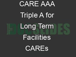 DHFLs credit rating upgraded to CARE AAA Triple A CARE upgrades rating to CARE AAA Triple A for Long Term Facilities CAREs highest rating a recognition of DHFLs business excellence over decades All I PowerPoint PPT Presentation