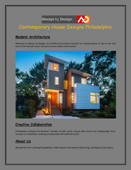 Contemporary House Designs Philadelphia