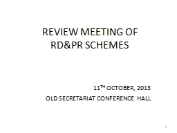 REVIEW MEETING OF