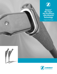 Zimmer M/L Taper Hip Prosthesis with Kinectiv Technology