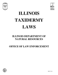 ILLINOISTAXIDERMY ILLINOIS DEPARTMENT NATURAL RESOURCESOFFICELAW ENFOR PowerPoint PPT Presentation