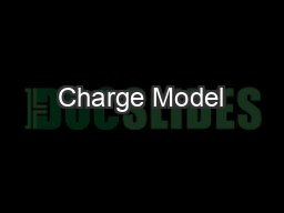 Charge Model