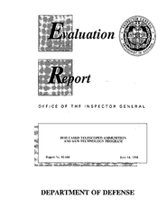 Additional Copies To obtain additional copies of this audit report, co