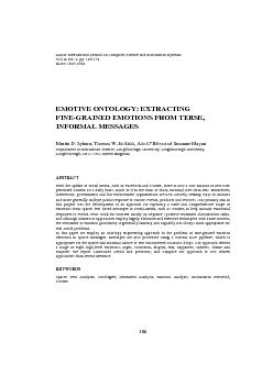 IADIS International Journal on Computer Science and Information System