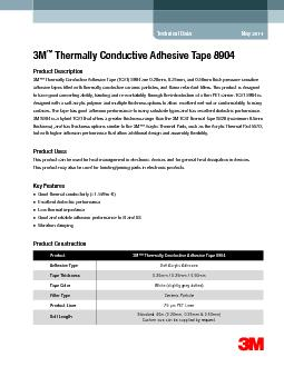 Thermally Conductive Adhesive Tape 8904