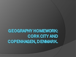 Geography homework: PowerPoint PPT Presentation
