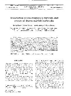 al. (1995) reported that currents observed at upper continental slope