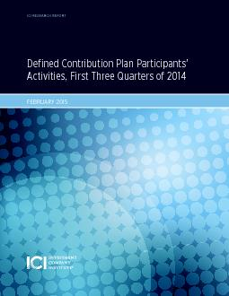 Defined Contribution Plan Participants'