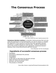 The Consensus Process