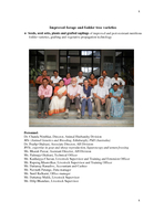NARI Animal Husbandry Division Introduction The Animal Husbandry Division AHD of NARI was started in  by Mr