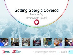 Getting Georgia Covered PowerPoint PPT Presentation