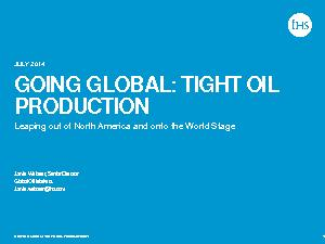 :  TIGHT OIL PRODUCTION PowerPoint PPT Presentation