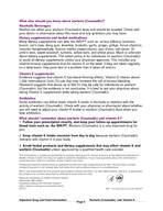 Important Drug and Food Information From the National Institutes of Health Clinical Center DrugNutrient Interaction Task Force Important information to know when you are taking Warfarin Coumadin and