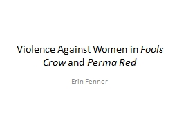 Violence Against Women in