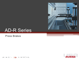 AD-R Series PowerPoint PPT Presentation