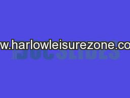 www.harlowleisurezone.co.uk