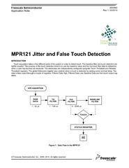 MPR121 Jitter and False Touch Detection