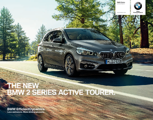 The new BMW  Series Active Tourer makes everyday life more exciting a