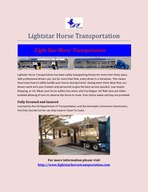 Lightstar Horse Transportation