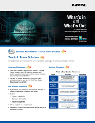 Track & Trace Solution