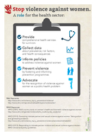 Violence against Women The Health Sector Responds Violence against women t PDF document - DocSlides