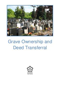 Grave Ownership and