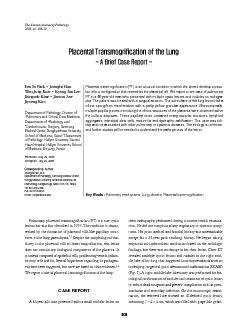 Placental transmogrification (PT) is an unusual condition in which the