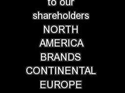 SHAREHOLDER BENEFIT Carnival Corporation  plc is pleased to extend the following benefit to our shareholders NORTH AMERICA BRANDS CONTINENTAL EUROPE BRANDS UNITED KINGDOM BRANDS AUSTRALIA BRANDS Onbo