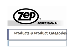 Products & Product Categories
