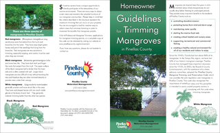 trim mangroves in Pinellas County, you must either qualify for one of