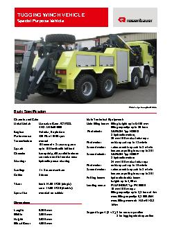 TUGGING WINCH VEHICL PDF document - DocSlides