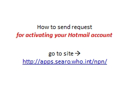 How to send request