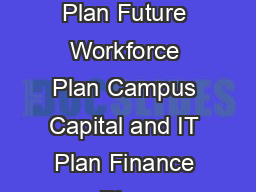 Ne W DIRECTIONS TRATE P AN    Education Plan Research and Innovation Plan Future Workforce Plan Campus Capital and IT Plan Finance Plan CONTENTS       The University aspires to be a global leader in