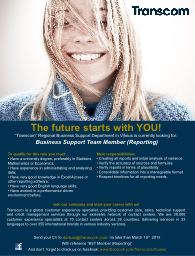 1 The future starts with YOU!