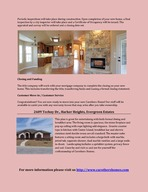 Custom Home Construction