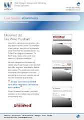 eCommerceUncorked LtdFine Wine MerchantUncorked is a premium wine merc